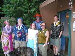Luau mystery party